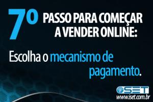 Escolha o mecanismo de pagamento
