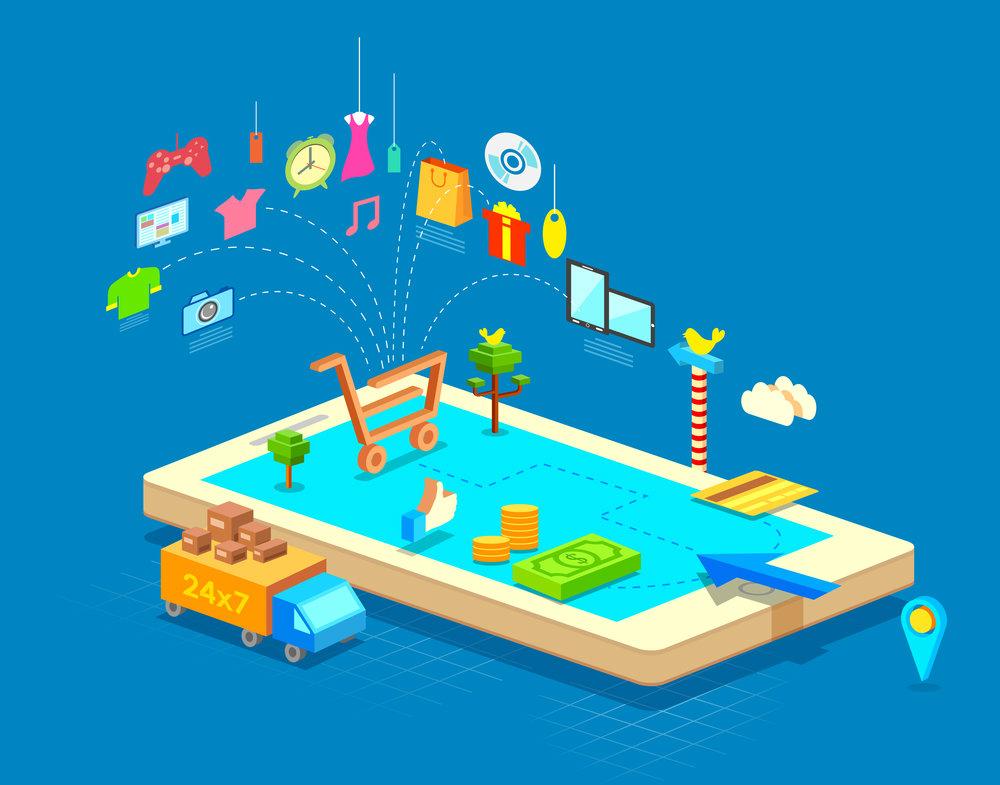 Qual é a importância de ter uma plataforma de e-commerce mobile?